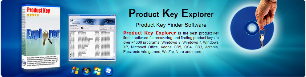 Product Key Explorer - Nsasoft.NET