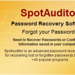 spotauditor password recovery software